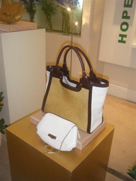 The new Manuka Tote and Erica Clutch